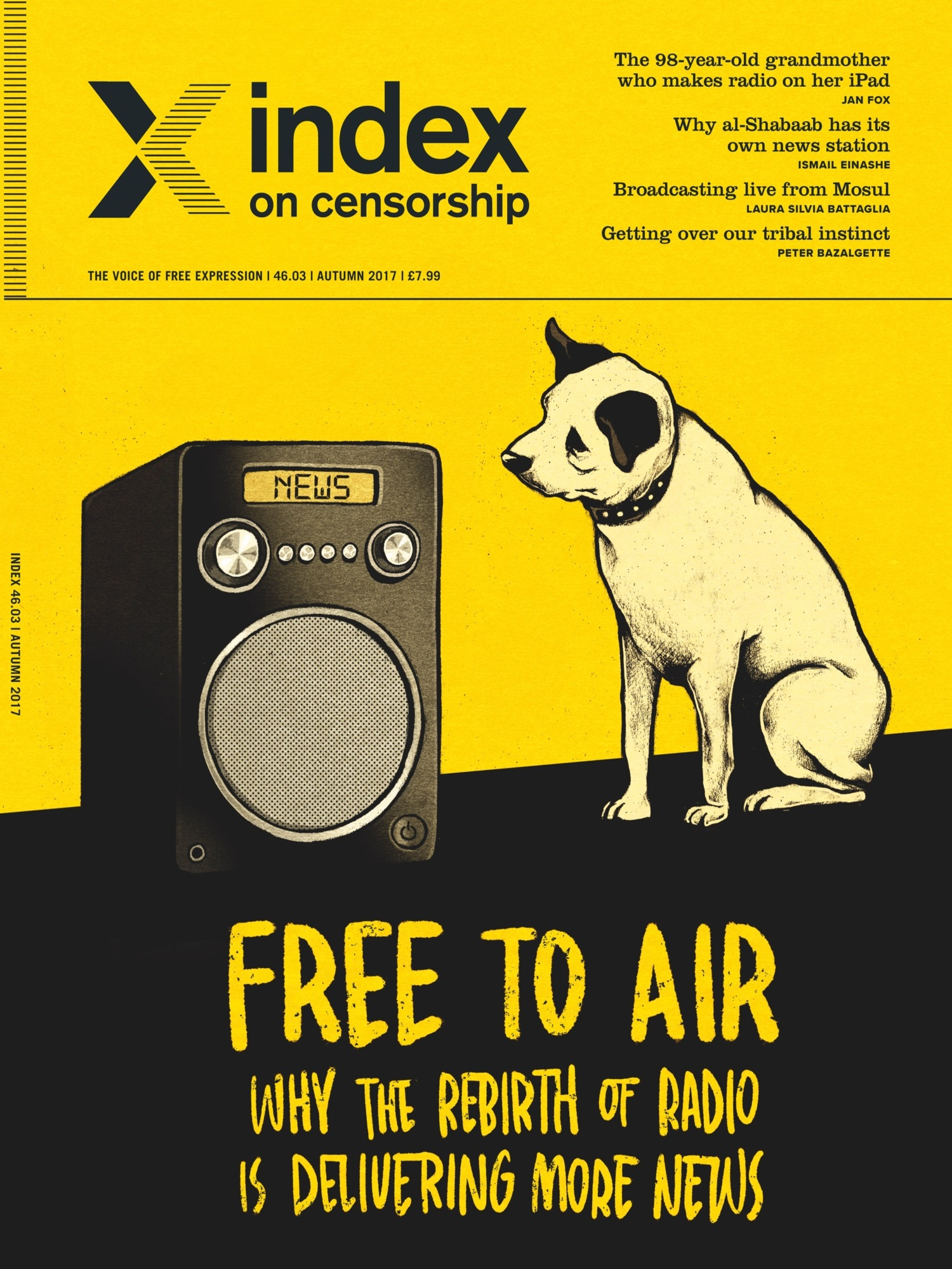RADIO IS BACK AND THAT'S GOOD FOR FREEDOM OF EXPRESSION
